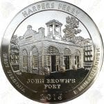 2016 America the Beautiful 5 oz silver Harper's Ferry, WV
