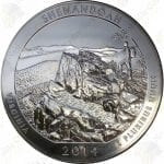 2014 America the Beautiful 5 oz silver Shenandoah National Park