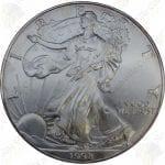 1998 1 oz American Silver Eagle - Brilliant Uncirculated