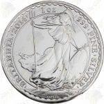 2014 Great Britain 1 oz Silver Britannia