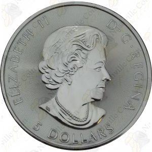 2017 Canada 1 oz $5 silver Voyageur 150th Anniversary