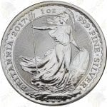 2017 Great Britain 1 oz Silver Britannia