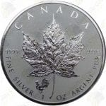 2017 Canada 1 oz Silver Maple Leaf -- Rooster Privy Mark