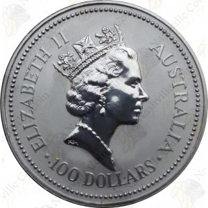 1988 Australia 1 oz .9995 fine platinum Koala -- BU