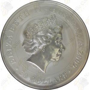 2009 Australia $30 1 kilo .999 fine silver Koala -- BU