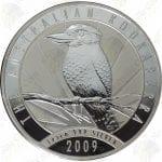 2009 Australia $30 1 kilo .999 fine silver Kookaburra -- BU