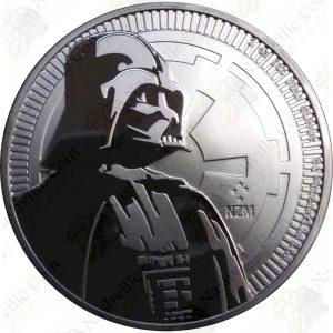 2017 Niue 1 oz .999 fine silver Darth Vader