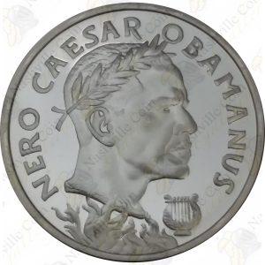 2017 Silver Shield 1 oz .999 fine silver Nero Caesar Obamanus