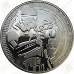 2018 Niue 1 oz .999 fine silver Star Wars -- StormTrooper