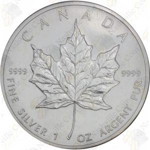 2005 Canada $5 1 oz silver Maple Leaf -- Uncirculated