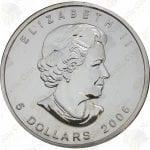 2006 Canada $5 1 oz silver Maple Leaf -- Uncirculated