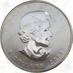 2009 Canada $5 1 oz silver Maple Leaf -- Uncirculated