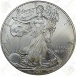 2011 American Silver Eagle -- BU -- 1 oz .999 fine silver