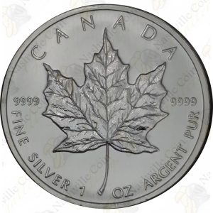 2011 Canada $5 1 oz silver Maple Leaf -- Uncirculated