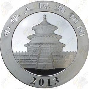 2013 China 1 oz .999 fine silver Panda - Uncirculated (in capsule)