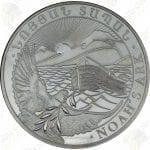 2014 Armenia 500 dram 1 oz .999 fine silver Noah's Ark