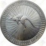 2018 Australia 1 oz .9999 fine silver Kangaroo