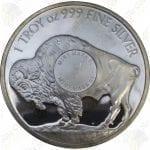 Sunshine Mint 1 oz .999 fine silver Buffalo round