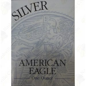 1995 Proof American Silver Eagle with box and COA