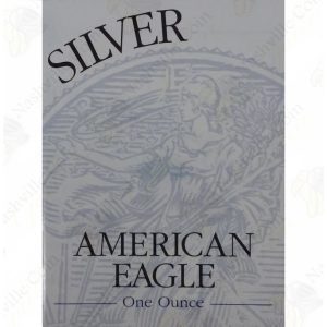 1997 Proof American Silver Eagle with box and COA