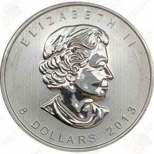 2013 Canada $8 1.5 oz .9999 fine silver Polar Bear