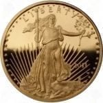 1/10 ounce Proof American Gold Eagle w/box and COA