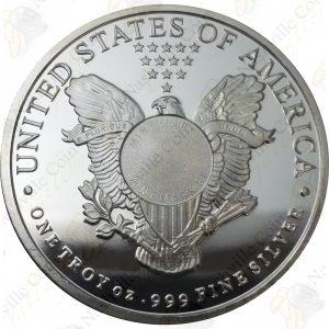 "Sunshine Mint 1 oz .999 fine ""Walking Liberty"" silver round"