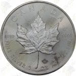 Canada 1 oz silver Maple Leaf -- IMPAIRED