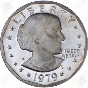 1979-S (Type 2) Proof Susan B. Anthony Dollar
