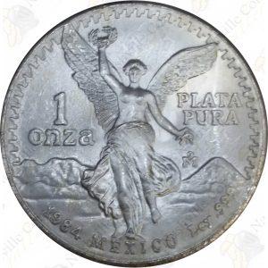 1984 Mexico 1 oz .999 fine silver Libertad