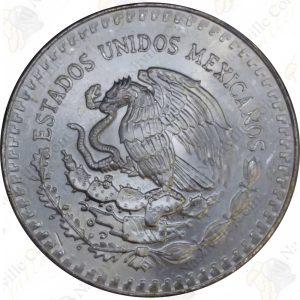 1985 Mexico 1 oz .999 fine silver Libertad