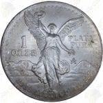 1989 Mexico 1 oz .999 fine silver Libertad
