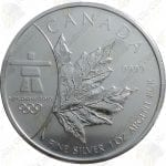 2008 Canada $5 Vancouver 2010 Winter Olympics