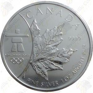 2008 Canada $5 Vancouver 2010 Winter Olympics