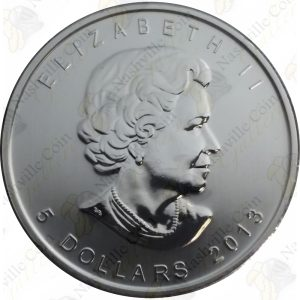 2013 Canada 1 oz .9999 Fine Silver Maple Leaf