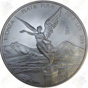 2015 Mexico 1 oz .999 fine silver Libertad