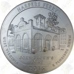 2016-P America the Beautiful 5 oz .999 fine silver Harpers Ferry National Park (Specimen finish)