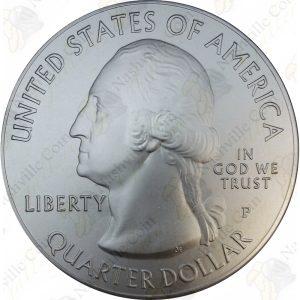 2015-P America the Beautiful 5 oz .999 fine silver Homestead National Monument (Specimen finish)