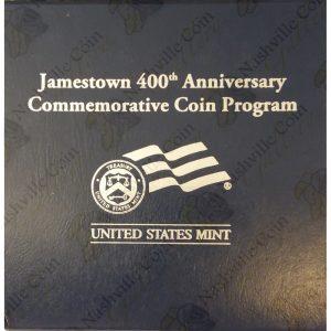 2007 Jamestown 400th Anniversary Commemorative Proof Silver Dollar