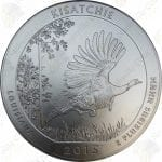 2015-P America the Beautiful 5 oz .999 fine silver Kisatchie National Forest (Specimen finish)