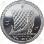Isle of Man 1 oz .9995 Fine Platinum Noble