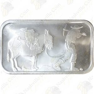SilverTowne 1 oz .999 fine silver bar (Sealed) -- Design may vary.