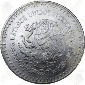 1991 Mexico 1 oz .999 fine silver Libertad