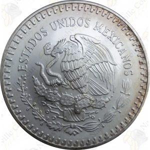 1992 Mexico 1 oz .999 fine silver Libertad