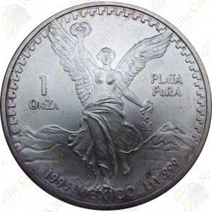 1993 Mexico 1 oz .999 fine silver Libertad