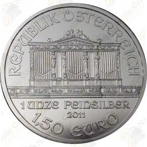 2011 Austria 1 oz silver Philharmonic