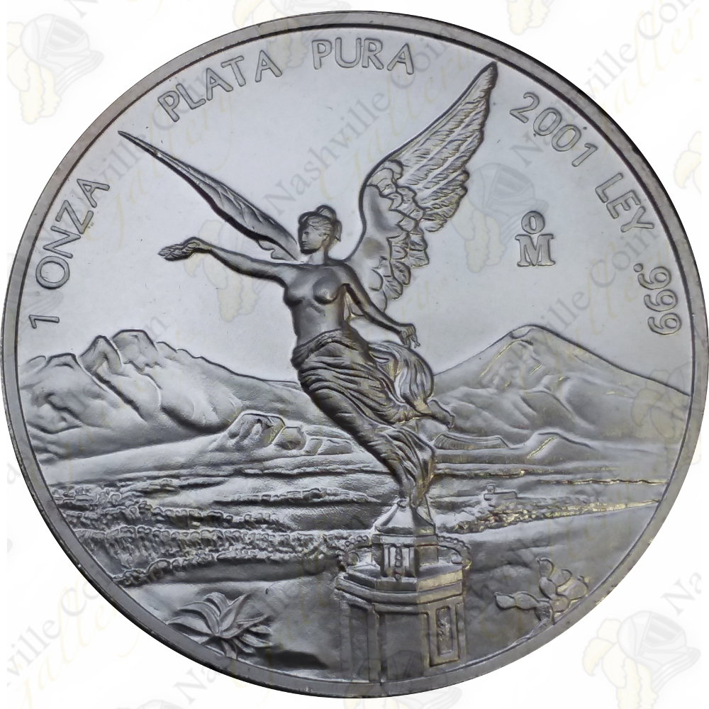 2 OZ LIBERTAD 2008 PROOF Mexican SILVER COIN Plata UNCIRCULATED