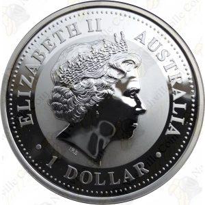 2005 Australia 1 oz .999 fine silver Kookaburra