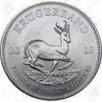 2018 South Africa 1 oz Silver Krugerrand