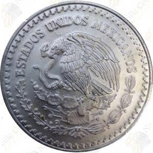 1995 Mexico 1 oz .999 fine silver Libertad